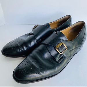 Bally Monk Strap Wales Slip On Loafers Italy Made